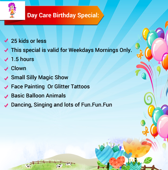 Entertainer Party Packages